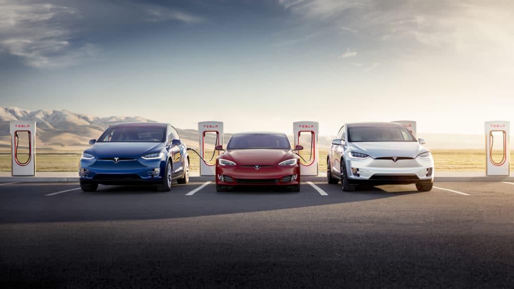 Tesla vehicle lineup