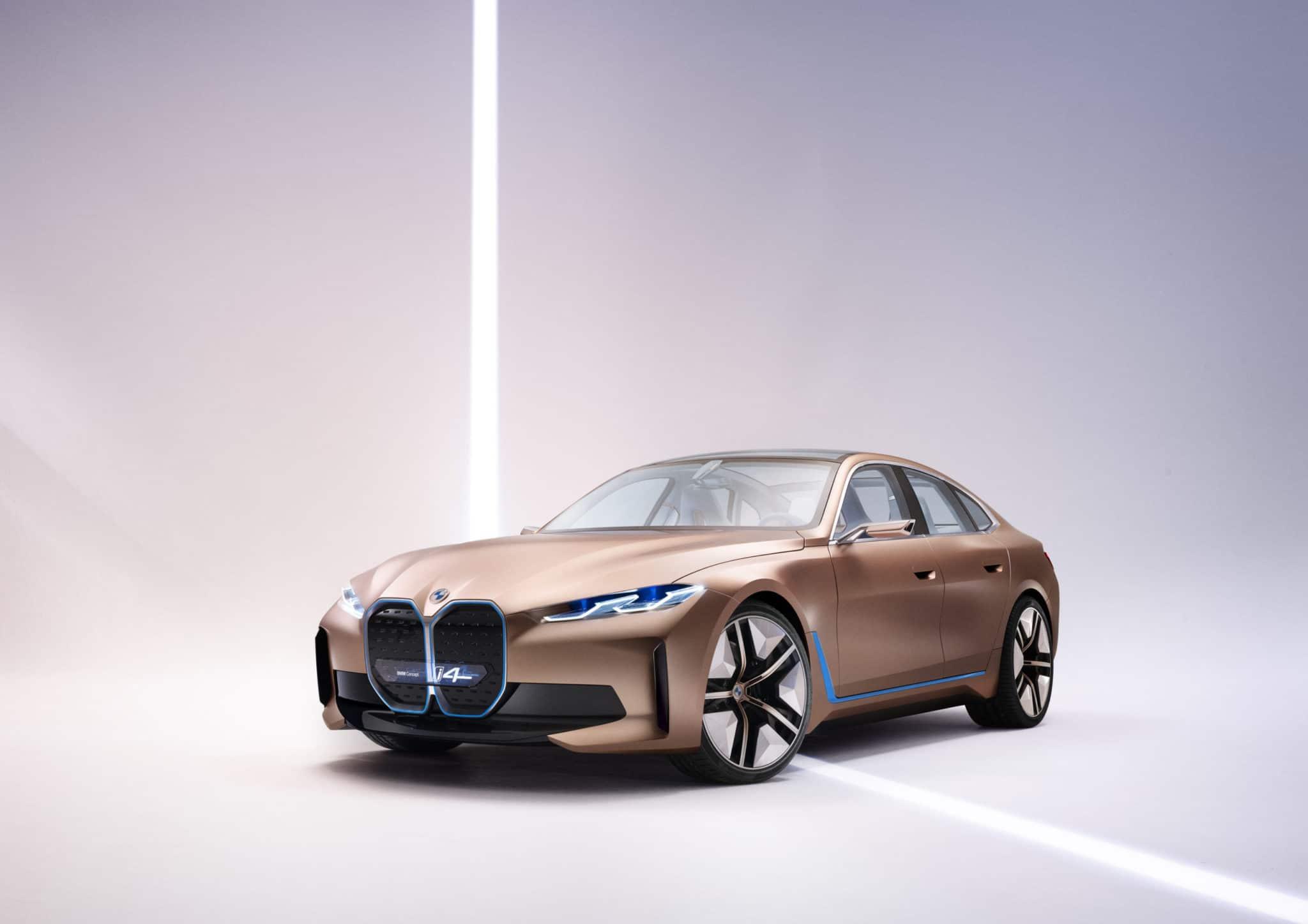 2021 BMW i4 Design Concept