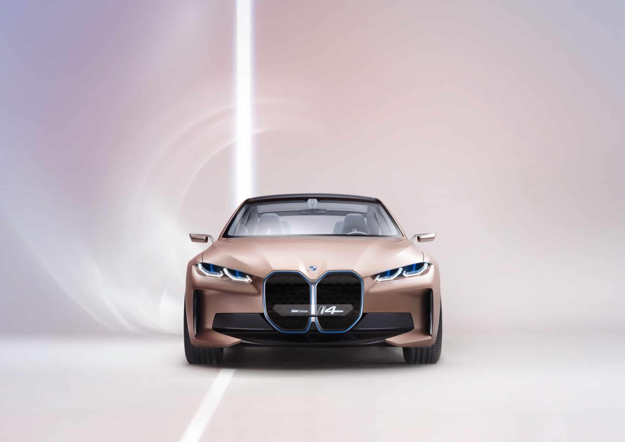 2021 BMW i4 Electric Car Concept