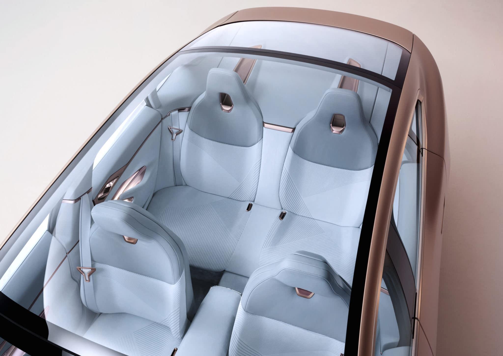 2021 BMW i4 Interior Seat Concept Design