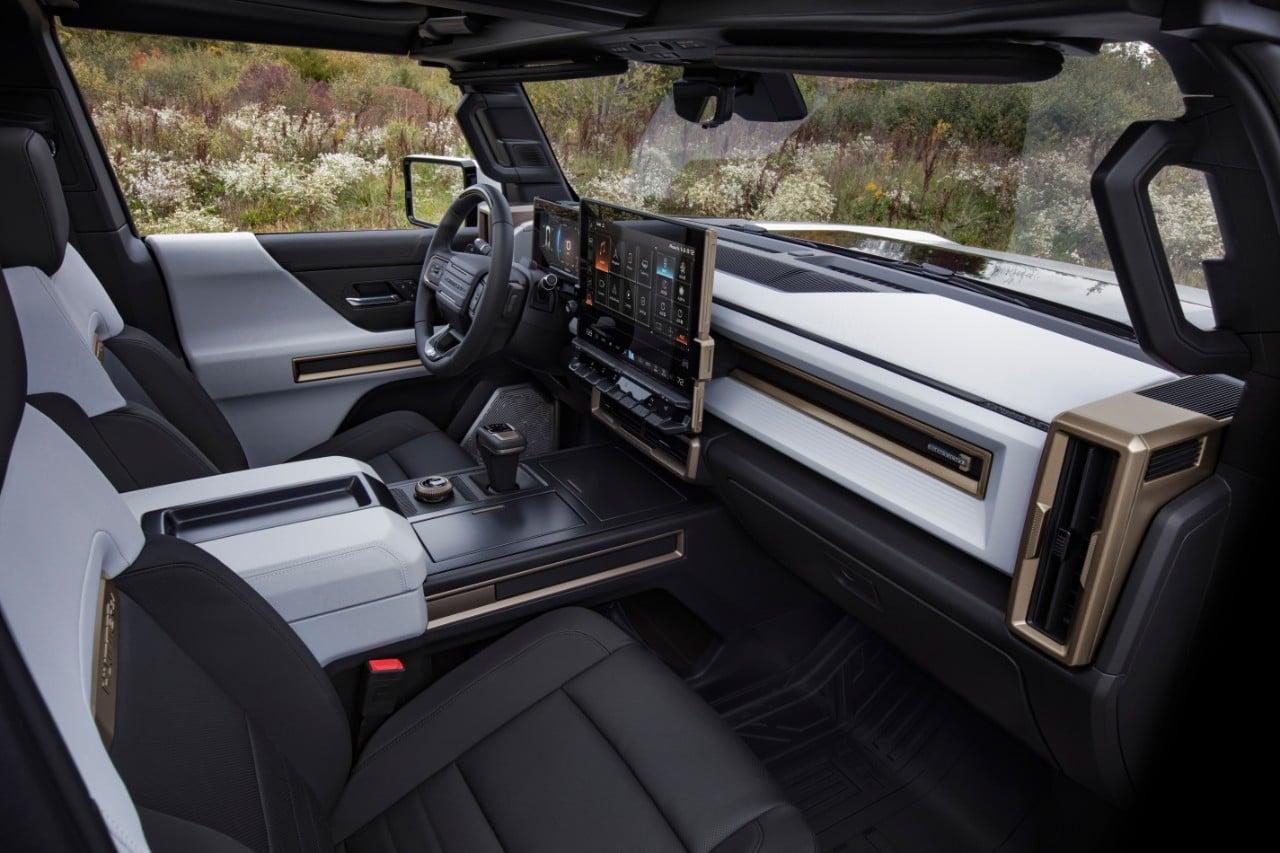 GMC Hummer EV Interior Design