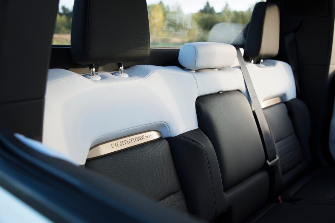 GMC Hummer EV Seat Design