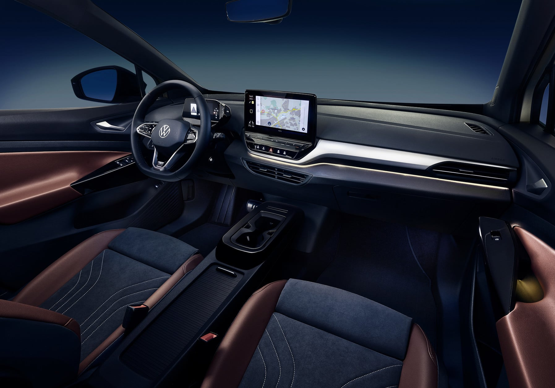 Interior Design and Technology of the Volkswagen ID.4