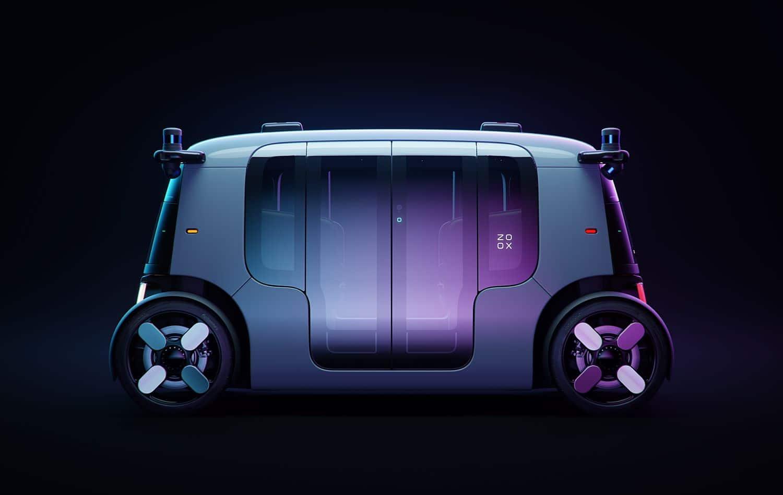 Zoox Autonomous Vehicle - Reveal Side 1