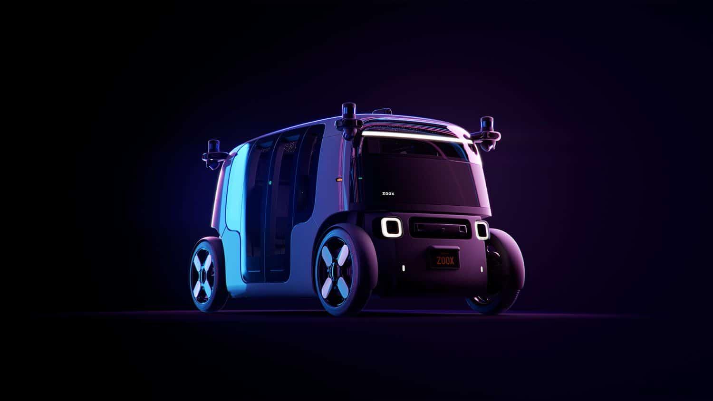 Zoox Autonomous Vehicle - Three Quarter View
