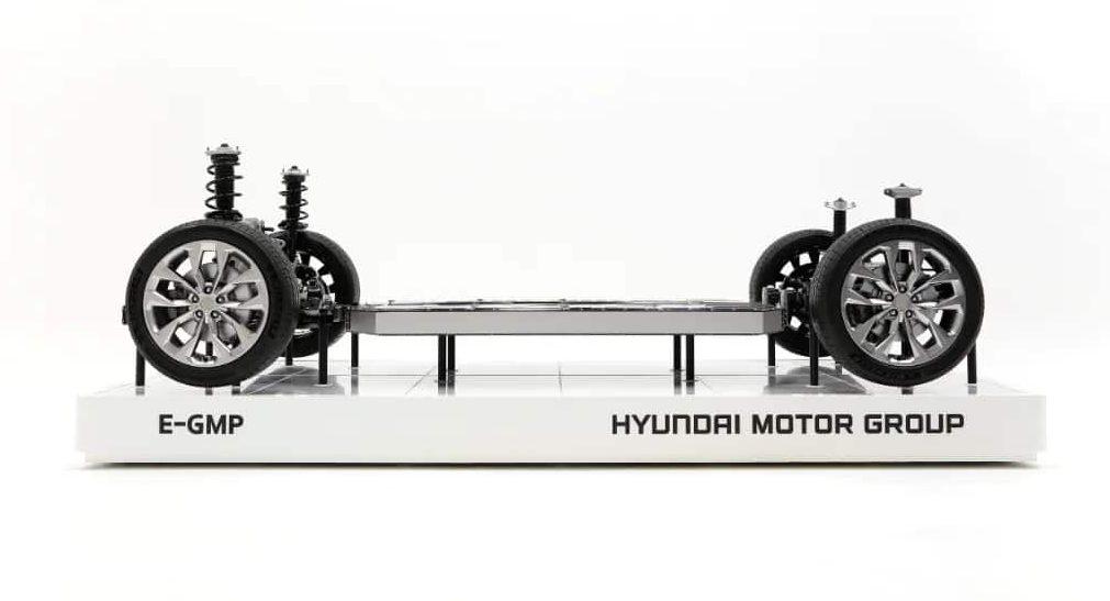 Hyundai E-GMP Platform EV Frame
