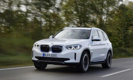 2021 BMW iX3 Electric Crossover