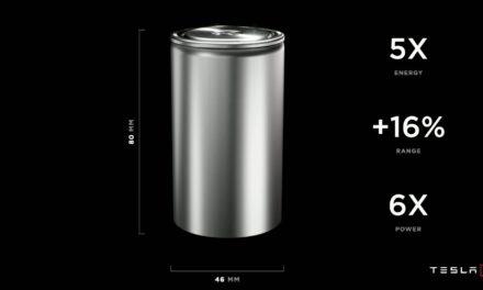 "Tesla Announces ""Tabless Design"" Battery"