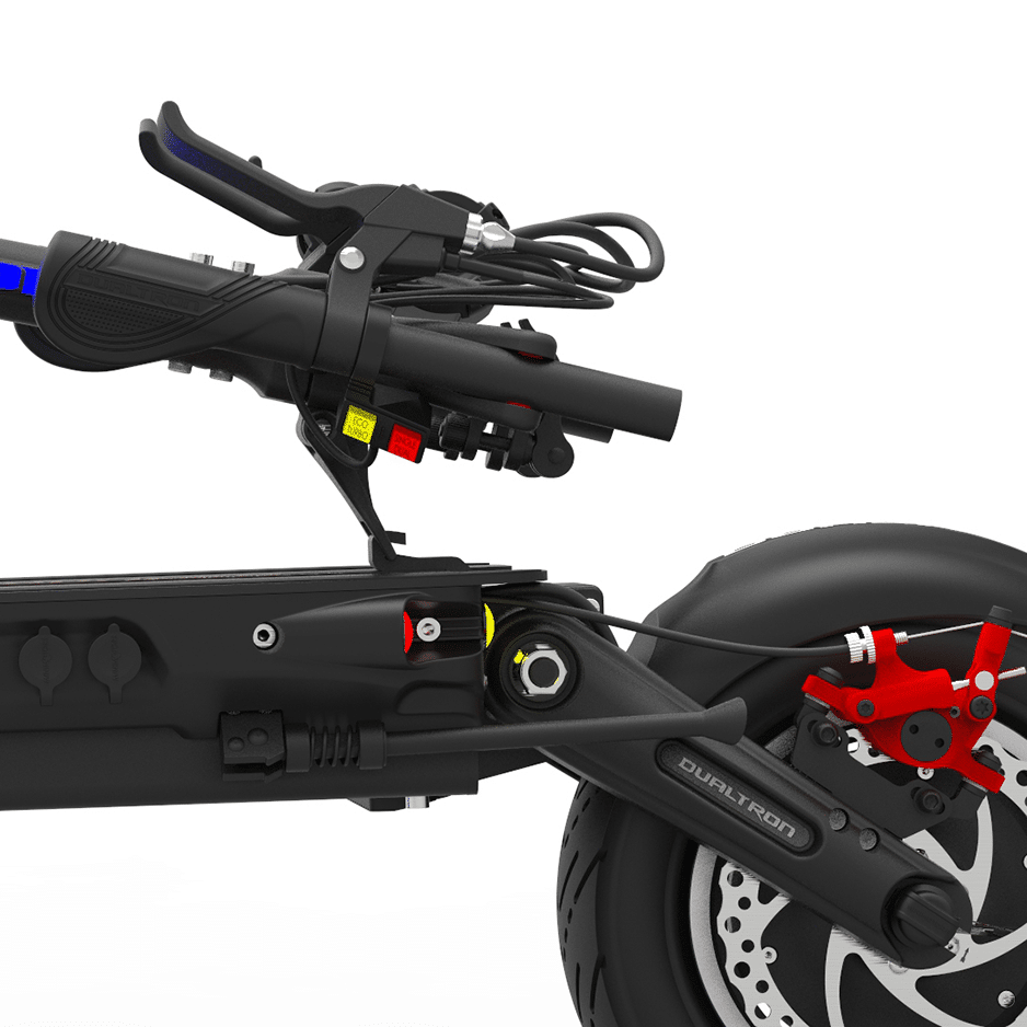 Dualtron Thunder Electric Scooter Folding Design