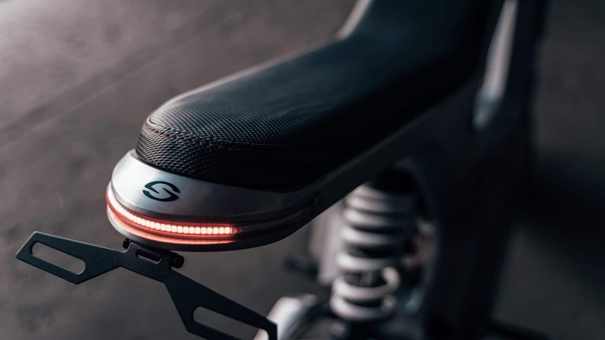 Sondors Metacycle Seat and Brake Light