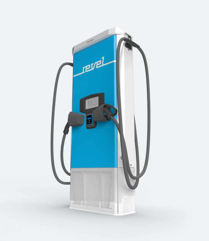 Revel Electric Moped Charging Station