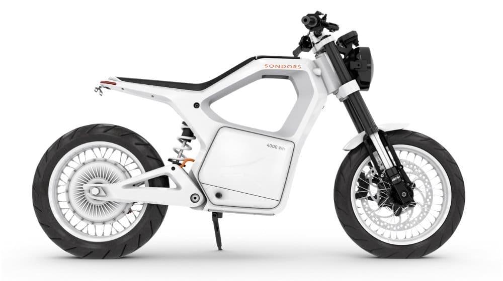 White Sondors Metacycle