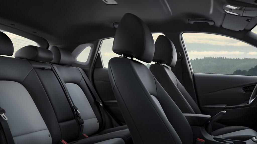 2021 Kona EV Interior Seats