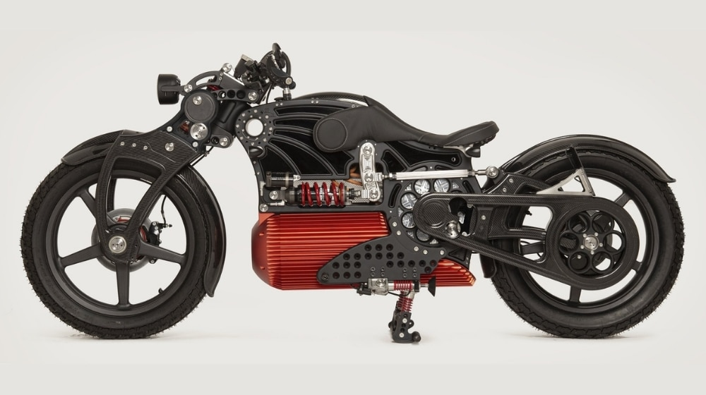 The Powerful 'Curtiss One' Luxury Electric Motorcycle Is Breathtaking