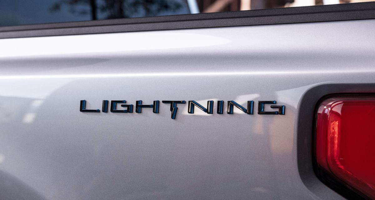 The Ford F-150 Lightning Electric Truck Reveal