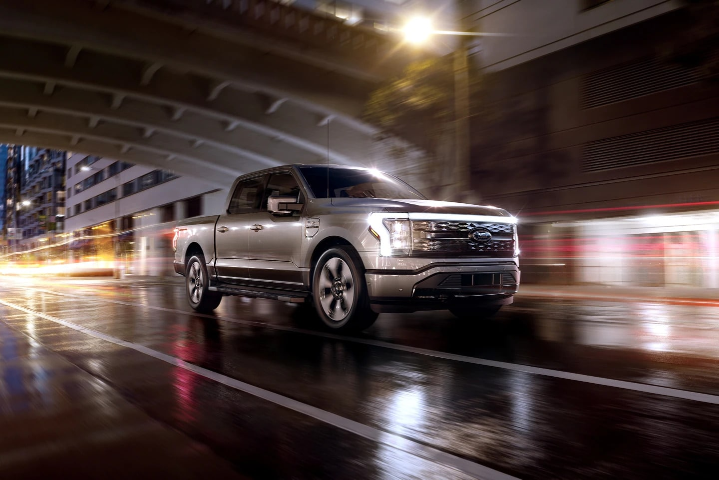 All Electric 2022 Ford F-150 Lightning