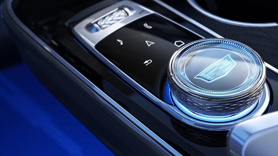 lyriq interior button controls