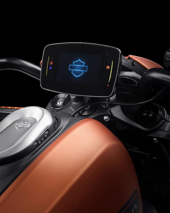harley livewire touchscreen
