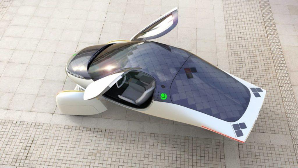 Aptera Solar Charging Electric Vehicle