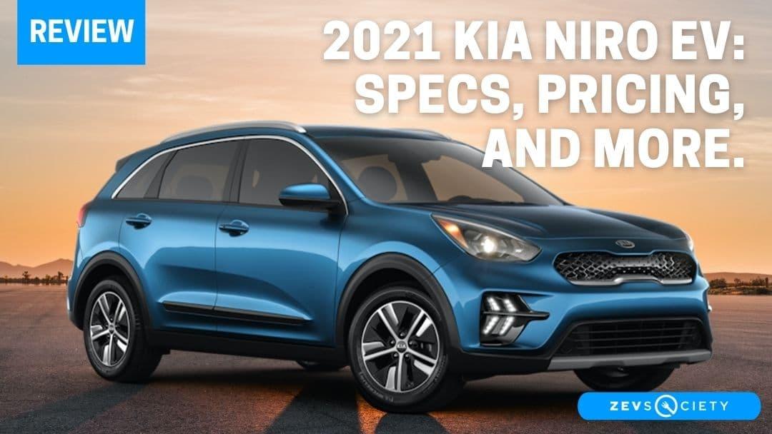 2021 Kia Niro EV: Specs, Prices, Design, and More