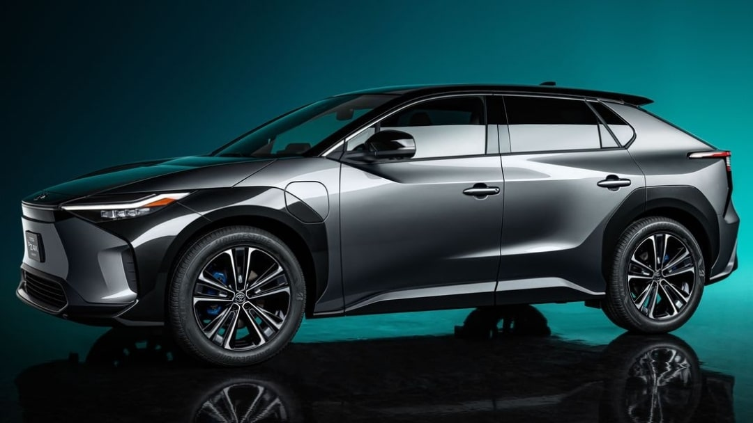 Meet the bZ4X, Toyota's All-Electric SUV Concept BEV Series